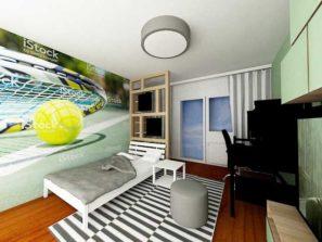 Návrh interiéru chlapeckého pokoje, návrh interiéru chlapeckého pokoje v praze , návrh interiéru v rodinném domě, návrh interiéru dětského pokoje, návrh interiéru dětského pokoje praha, bytový designer praha, bytový design praha