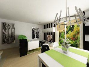 Návrh interiéru dřevostavby pro developerský projekt Karlovy Vary, návrh interiéru developerský projekt, návrh interiéru dřevostavby, návrh interiéru developerský projekt karlovy vary, návrh interiéru dřevostavby karlovy vary, návrh interiéru obývacího pokoje, návrh interiéru obývacího pokoje karlovy vary,bytový designer karlovy vary, bytový design karlovy vary, návrh zeleného obývacího pokoje,