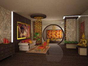 návrh interiéru feng shui, feng shui návrhy, feng shui praha, návrh interiéru feng shui obývacího pokoje, návrhy interiérů praha, návrh interiéru praha, feng shui interiér, feng shui interier praha, etnický interiér, etno interiér, východní styl interiér, stylový interiér, stylový obývací pokoj, feng shui obývací pokoj,