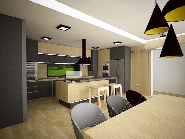 aa9f57365851 Návrh kuchyně online rychle a výhodně. 3D vizualizaci Vaší kuchyně ...