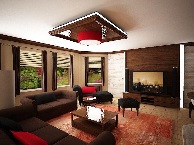 Návrh Interiéru Obývací Pokoj Frantičkovi Lázně